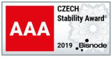 CZECH Stability Award AAA rating new