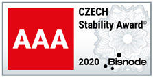 CZECH Stability Award AAA rating